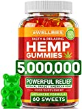 Stress Relief - Wellbies gummies for anxiety and pain relief infused with nature's essential micronutrients such as Omega 3-6-9 and vitamins to boost your mood & wellness from within. Take care of your external and inner balance in the most delicious...