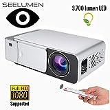Proyector Full HD 1080P, Seelumen HD5000 (1920x1080) 3.700...