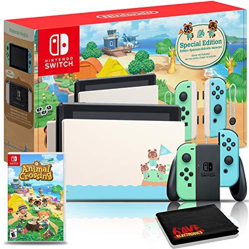 Nintendo Switch Animal Crossing: New Horizons Edition 32GB Console Bundle + Animal Crossing: New Horizons Game