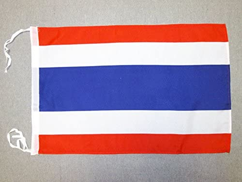 8/' x 5/' THAILAND FLAG Thai Extra Large Funeral Coffin Drape Huge Massive Flags