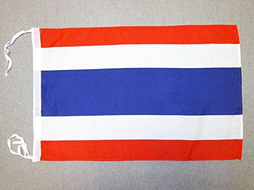 AZ FLAG Flagge Thailand 45x30cm mit Kordel - THAILÄNDISCHE Fahne 30 x 45 cm - flaggen Top Qualität