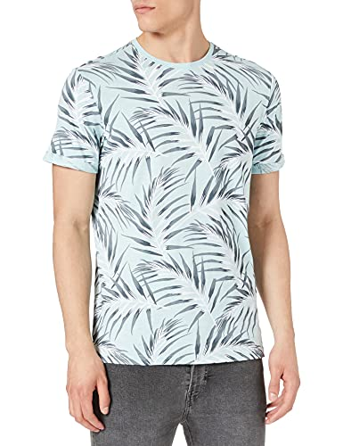 Only & Sons Onsiason Slim SS AOP tee Noos Camiseta para Hombre