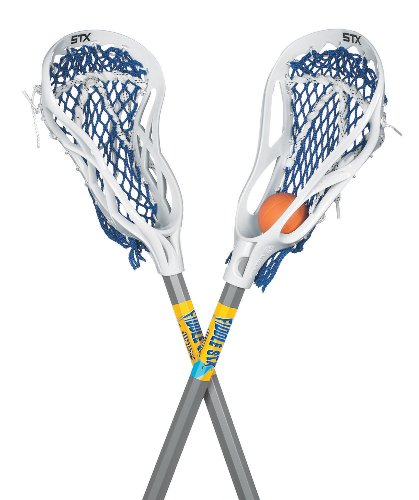 STX FiddleSTX Two Pack Mini Super Power with Plastic Handle and One Ball, 30-Inch