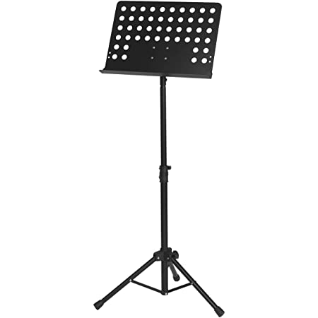 Atril de orquesta, color negro