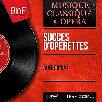 Succès d'opérettes (Mono Version)
