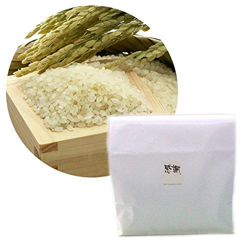 【精米】新潟 無農薬コシヒカリ 5kg[感謝シール付き]