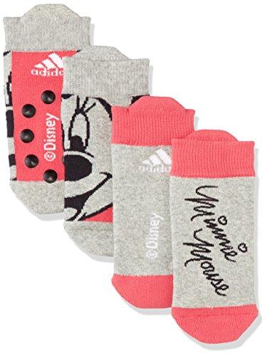 adidas Kinder Dy Inf Gir Socken XXL Grau/Gritre/Rosbas/Brgrin