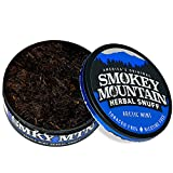 Smokey Mountain Herbal Snuff - Arctic Mint - 1-Can - Nicotine-Free and Tobacco-Free