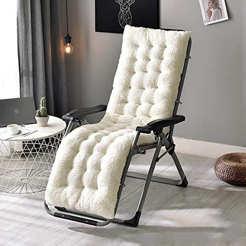 Balancelle Coussins, Remplacement Sunbed Coussin Pad Classique Chaise de Jardin Patio épais Pad pour Voyage de Vacances Jardin intérieur extérieur, Pas de chaises,1,51 * 20 * 5inch