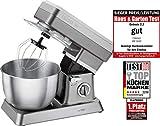 Clatronic KM 3630 Küchenmaschinen, titan