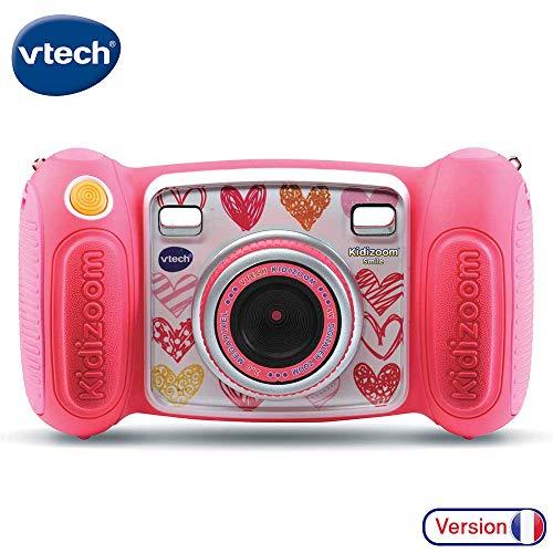 VTech Kidizoom Smile - Cámara de Fotos para niños, a Partir de 3 años