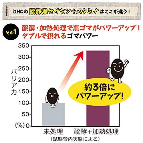 DHC醗酵黒セサミン+スタミナ30日分