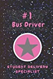#1 Bus Driver Student Delivery Specialist: School Bus Driver Appreciation Gifts / Bus Driver Retirement Gifts / Thank you Bus Driver