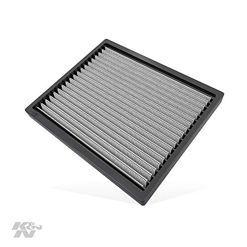 K&N Premium Cabin Air Filter: High Performance, Washable, Lasts for the Life of your Vehicle: Designed For Select 2007-2019 Hyundai/Kia (i20 II, I30, Elantra, cee d, K3, Carens, Forte, Rondo), VF2037