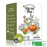 Cultivea Sabores del mundo - Mini Kit Huerto - Semillas 100% ecológicas - Cultivar y disfrutar - Idea para regalar (Té del Mundo)