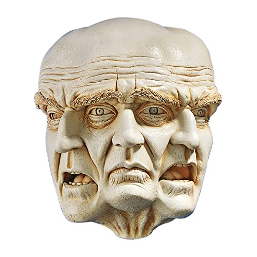 Design Toscano DB51037 Faces of a Nightmare Gothic Wall Sculpture, 10 Inch, Polyresin, Ancient Ivory