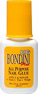 Nail Supplements Big Bondini Plus All Purpose Nail Glue -Size 0.14 oz