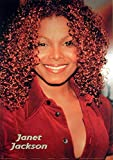 1art1 Janet Jackson - Red Poster 91 x 61 cm