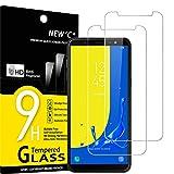 NEW'C 2 Unidades, Protector de Pantalla para Samsung Galaxy J6 2018 (SM-J600F), Antiarañazos,...