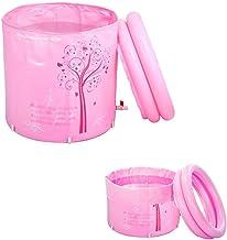 Draagbare opvouwbare badkuip, plastic warm water volwassen bad, in hoogte verstelbaar, babyzwemmen Folding badkuip (Color...