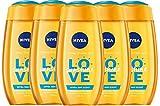 6er Pack - Nivea Women Duschgel - Love Sunshine - 250ml