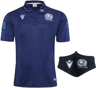 2019日本ラグビーワールドカップのユニフォームスコットランドのホームコートTシャツ、汗を吸収するラグビーウェア(S~3XL)のホームマスク