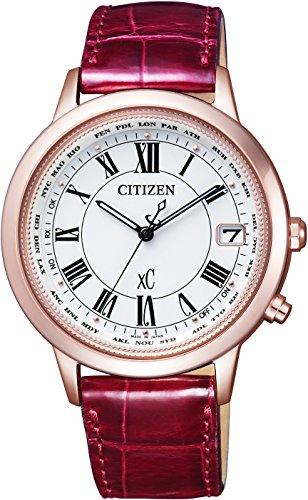 [シチズン]CITIZEN 腕時計 xC クロスシー エコ・ドライブ電波時計 ティタニアライン ハッピーフライトシリーズ サクラピンク CB1104-05A レディース
