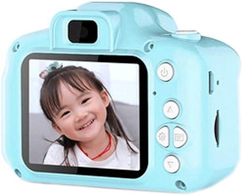 Appareil Photo numérique Jouet pour Enfants Peut Prendre des Photos vidéo bébé Photographie Mini HD Enfants Cadeau d'anniversaire de Vacances (Couleur   bleu, Taille   8GB)
