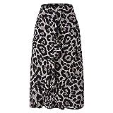 Röcke Frauen Streetwear Boho Bodycon Leopardenmuster Röcke mit hoher TailleWeiblich Sommer Midi Leopard Damen Sexy Rock Punk Streetwear