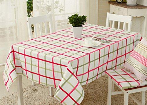 William 337 rechthoekige tafelkleed - landelijk dorp op rood continentaal tafelkleed theetafel stof van katoen en linnen tafelkleed