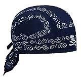 RUIXIB Sports Bandana Cap Herren Piratentuch Damen Baumwolle Kopftuch Hut