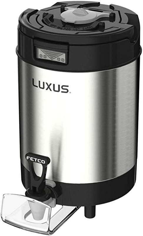 Fetco D451 L4S 10 Luxus 1 Gallon Thermal Coffee Dispenser W O Stand