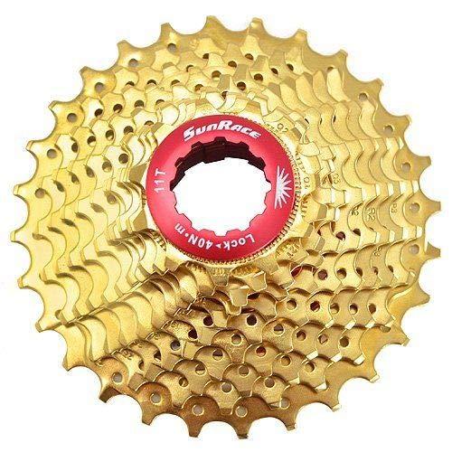 SunRace CSRZ1 - Casete para bicicleta de carretera de 11 velocidades, color dorado, ST1685