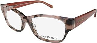 Juicy Couture 136 Womens/Ladies Cat Eye Full-rim Spring Hinges Popular Shape Sophisticated Eyeglasses/Eye Glasses