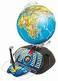 Clementoni- Galileo Science Globus Connect 2.0-Pallina interattiva con Domande e...