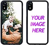 Customized Case for iPhone Xr Personalized Custom Picture Phone Case Customizable Slim Soft and Hard Tire Shockproof Protective Phone Cover Case Make Your Own Phone Case (iPhone Xr)