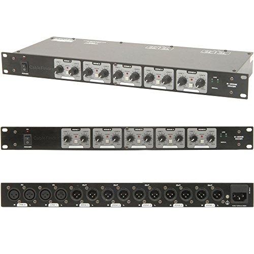 XLR Lautsprecher Matrix Zone Mixer für amplifiers-switch/splitter-distribution Box DJ.
