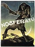 Nosferatu, a Symphony of Horror Poster Movie B 11x17 Max Schreck Gustav von Wangenheim MasterPoster Print, 12x16 by Poster Discount