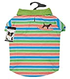 Casual Canine Hawaiian Breeze UPF40 Polo Shirt for Dogs, Small