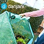Danjani outdoor raised garden bed with drop over greenhouse - durable, anti-rust steel flower beds - 71. 3 gal planter… 17 perfect for every gardener: whether you're an experienced gardener or as new as freshly grown sprouts, this raised garden bed kit is perfect for you. The planter box makes growing herbs, vegetables and plants easy and stress-free. Enjoy low maintenance with the greenhouse, which provides weather protection, keeping heat and moisture in, and bugs and critters out. Protect and nourish plants: the greenhouse drop over can increase plant yield by providing a warm and nourishing environment to grow in. It also protects from extreme weather, making it possible to grow plants that normally wouldn't fare well in your area. Enjoy year-round fruits and vegetables with the option to grow in the winter. Save money: the rising cost of herbs and produce makes eating healthy an expensive option. But it doesn't have to. Growing your own food can be rewarding, not only for your body and mind but for your wallet too. Have year-round access to some of your favorite fruits, vegetables, and herbs with only the minimal cost of growing them!