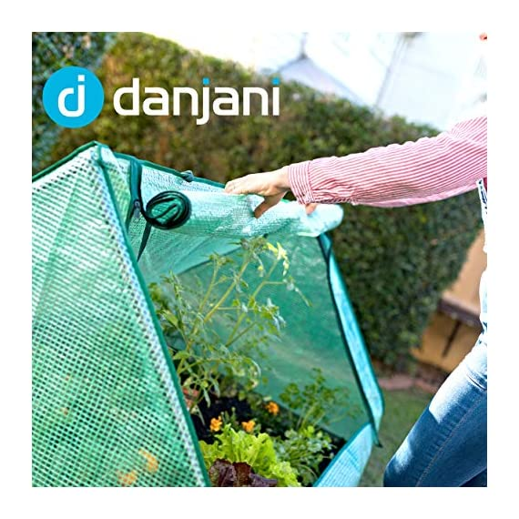 Danjani outdoor raised garden bed with drop over greenhouse - durable, anti-rust steel flower beds - 71. 3 gal planter… 8 perfect for every gardener: whether you're an experienced gardener or as new as freshly grown sprouts, this raised garden bed kit is perfect for you. The planter box makes growing herbs, vegetables and plants easy and stress-free. Enjoy low maintenance with the greenhouse, which provides weather protection, keeping heat and moisture in, and bugs and critters out. Protect and nourish plants: the greenhouse drop over can increase plant yield by providing a warm and nourishing environment to grow in. It also protects from extreme weather, making it possible to grow plants that normally wouldn't fare well in your area. Enjoy year-round fruits and vegetables with the option to grow in the winter. Save money: the rising cost of herbs and produce makes eating healthy an expensive option. But it doesn't have to. Growing your own food can be rewarding, not only for your body and mind but for your wallet too. Have year-round access to some of your favorite fruits, vegetables, and herbs with only the minimal cost of growing them!