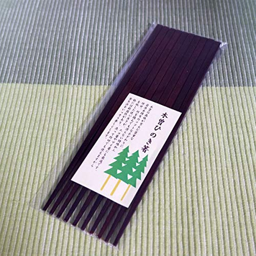 5 Zen set lacquering Kiso hinoki chopsticks [] Kiso hinoki chopsticks (japan import)