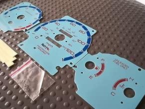 95 96 97 98 99 Mitsubishi Eclipse Turbo Manual Automatic Transmission Gauges Cluster Face - Blue