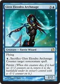 Magic: the Gathering - Glen Elendra Archmage (47) - Modern Masters - Foil