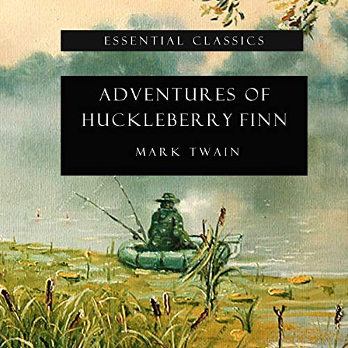 Couverture de Adventures of Huckleberry Finn (Annotated)