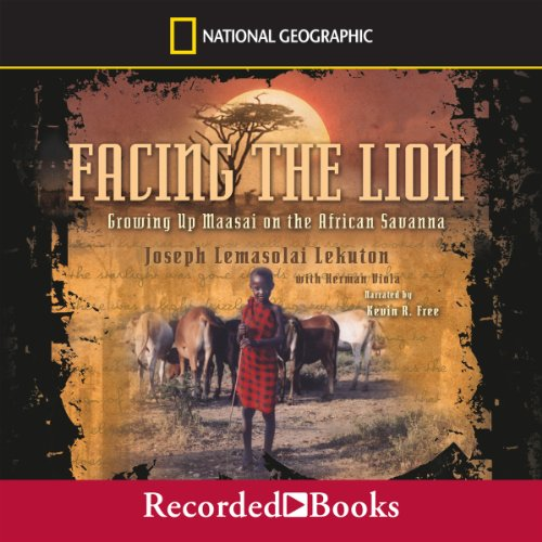 Facing the Lion audiobook cover art