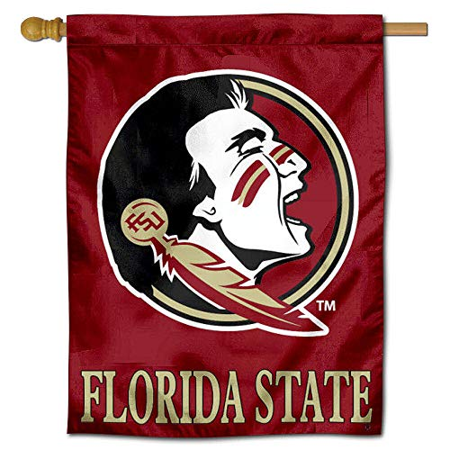 College Flags & Banners Co. Florida State University Seminoles House Flag