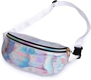 Holographic Fanny Packs for Women – Outdoor Sport Waist Pack for Running, Hiking, Traveling for Men