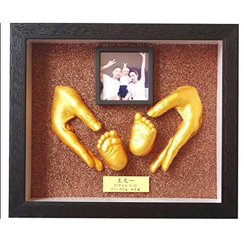 Abrigo para Perros 3D Mano y la huella Kit, regalos de cumpleaños Productos objetos de recuerdo, las fotos pueden imprimirse de forma gratuita, es muy hermosa, se puede colocar en cualquier lugar en l