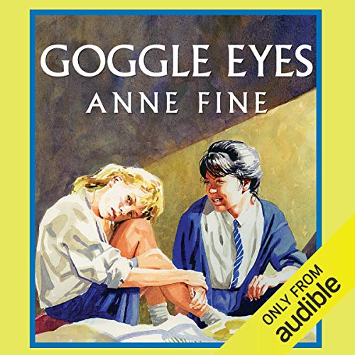 Goggle Eyes audiobook cover art